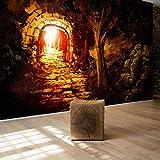 Personnalisé Mur Papier Peint Alley Fantaisie Forêt Art Peinture Murale Papiers Peints Décor À La Maison...