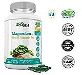 ZMA Magnésium Zinc et Vitamine B6 Augmente les Niveaux de Testostérone Réduit la Fatigue Améliore le...