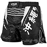 Venum MMA Okinawa Noir Adultes Prises Combat Short - Nouveau - Noir, M