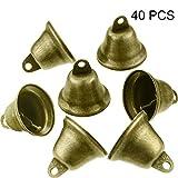 40 Pièces Vintage Jingle Bells Clochettes en Bronze Suspensions en Cuivre pour Carillons Éoliens Faisant des...