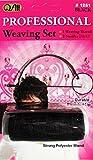 Kit couture mèches de tissage 2 aiguilles et fil noir