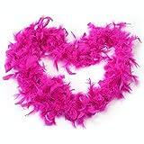 2 m rose plume rouge boa moelleux parti décoration fantaisie costume habiller prop nouvelle utile et pratique...