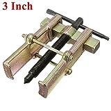 Calli 7,6cm 75mm deux mâchoire Boulon de bras Gear Extracteur de roulement de roue de voiture automatique...