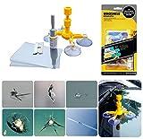 Kit de réparation de pare-brise, Kit d'outils de réparation de fissure de pare-brise pour la réparation de...