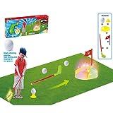 YTBLF Golf pour Enfants Loisirs Intérieurs Et Extérieurs Sports De Balle Interactifs Parents-Enfants Jouets...