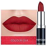 LEvifun Rouge à Lèvres Mat Rouge à Lèvres Longue Tenue Rouge à Lèvres Liquide Hydratant Maquillage...