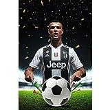La Superstar Cristiano Est à Venir! Ronaldo Se Joint à La Juventus Memorial HD Des Autocollants Décoratifs...