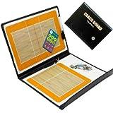 Tableau tactique magnétique pour schémas de coach, jeux de volleyball, en cuir synthétique