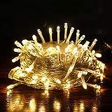 Guirlande lumineuse conduit décoration de vacances lumières étoiles imperméable à l'eau de Noël étoiles...