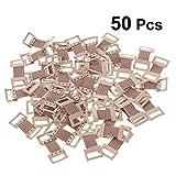 Healifty 50pcs agrafe de bandage élastique de pince en métal de fixation attache des crochets