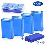Tencoz 4Pack Argile de Nettoyage de Voiture, Barre d'argile de Voiture Bar Clay Kit de Nettoyage Voiture 400g...