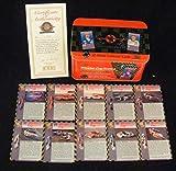 Winston Cup Series Lot de 10 cartes à collectionner en métal dans une boîte métallique 25 ans
