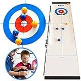 Elite Sportz Table Top Curling Game pour les familles. Adultes contre les enfants dans ce jeu de famille...