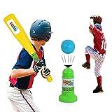 Vjoy Enfants Baseball Trainer Practise, Automatique Réglable Lanceur de Baseball Educational Leisure...