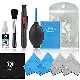 Kit de Nettoyage Professionnel pour Appareils Photo Reflex Numériques (Canon, Nikon, Pentax, Sony) Incluant 1...