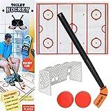 Bloomma Toilette Hockey Jeu Anti-Stress Exquis Amusant Jeu De Développement Hockey sur Glace Jouets...