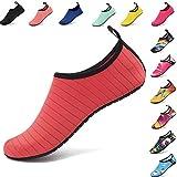 AGOLOD Chaussettes d'Eau,Piscine Surf Natation Quickdry Barefoot Aqua Yoga Chaussettes pour Hommes Femmes...