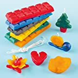 Kit de Fabrication de Bougies pour enfants - Vendu par lot - Requiert la surpervision obligatoire d'un adulte