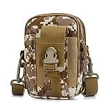 C-Xka Multi-Purpose Poly Outil Porte-EDC Poche Camo Sac Nylon Utilitaire Taille Pack Camping Randonnée Poche...
