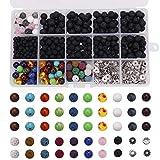 Perles de bricolage set 514pcs, adapté pour les colliers de bracelets chaîne de perles Fabrication...