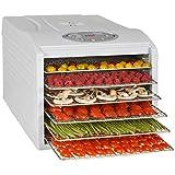 Kitchen Chef KYS333B KYS-333B Déshydrateur de Fruit, 500 W, Transparent, Blanc