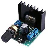 Yeeco TDA7297 Mini Numérique Amplificateur Stéréo Audio 12V Ampère Planche Amplifier Module 15W + 15W...