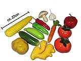 13pièces artificielle Légumes Ensemble de nourriture pour décoration