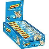 PowerBar Protein Nut2 barres protéinées faible en sucre Goût Chocolat Blanc et Noix de Coco 18 x 45g