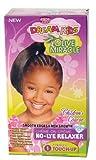 African Pride Kit Défrisant Retouche Super Olive Miracle pour Enfants, Lot de 2