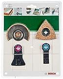 Bosch 2609256978 Set de carrelage 4 pièces 'Le Sanitaire - Carreleur' accessoires Starlock