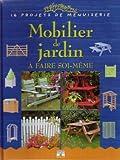Mobilier de jardin à faire soi-même : 16 Projets de menuiserie
