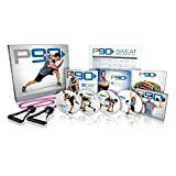 Beachbody Kit de base du programme de boxe de Tony Horton P90 en 4 DVD : 10 séances d'entraînement, guide...