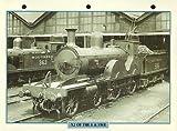 Maxi carte trains X2du L & SWR Locomotive de chemin de fer de photo Tableau d'Acheminer