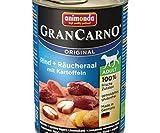 Grancarno Adult - Anguille fumée + Pommes de terre 400g, Animonda, Animonda, Conserves de Chiens