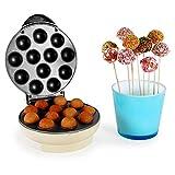 oneConcept Boogie Pop Cake Maker - Machine à cake pops de 1300W avec revêtement anti-adhésif (12 popcakes,...