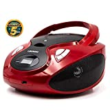 Lauson Lecteur CD | Radio Portable Bluetooth | USB | Radio Stéréo CD Lecteur MP3 pour Enfants | Chaîne...