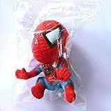 Spider Poupée Ventouse pour vitre d'escalade Spiderman Toy Car Maison Ornement Rouge