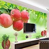 Hwhz Personnalisé 3D Photo Papier Peint Fruits Frais Grand Mur Peinture Restaurant Salon Canapé Tv Fond...