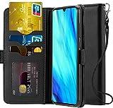 Ferilinso Coque pour Huawei P30, Housse Elegant Vrai réel Cuir Coque avec ID Carte de crédit Slot Holder...