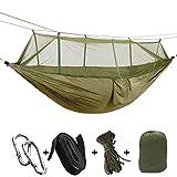 Morza Sleeping Parachute Tissu moustiquaire hamac 2 Personne Dormir Lit Chasse Camping en Plein air