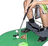 Amasawa Mini-Golf de Toilettes,Mini-Golf pour Toilettes Set Jeu de Golf Set pour la Salle de Bain 6...