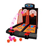 Aidle table top mini basketball basketball jeu 2 joueurs de basket-ball basketball jeu avec dispositif de...