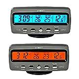 Itian 4 en 1 Détecteur tension température voiture Auto Lcd affichage digital afficheur Thermometre Controle...