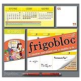 Frigobloc 2020 Hebdomadaire - Calendrier d'organisation familiale par semaine (de sept 2019 à déc 2020): Le...