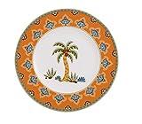 Villeroy & Boch Samarkand Assiette Mandarine & à Pain et Beurre-Multicolore