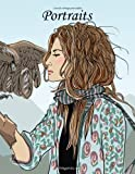 Livre de coloriage pour adultes Portraits 5