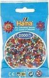 2 000 perles mini (petites perles Ø2,5 mm)- Assortiment - Hama
