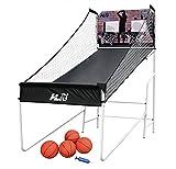 HLC Panier de Basketball avec ballons et système éléctronique