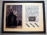 Tableau avec photo ancienne et texte sur le métier de médecin ou docteur