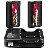 Manette Xbox One Batterie, 2500 mAh rechargeable Batterie pour Xbox One / S / One X / One Elite, pack de 2...